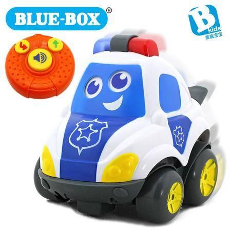 蓝盒宝宝儿童玩具婴儿早教益智玩具 遥控警车
