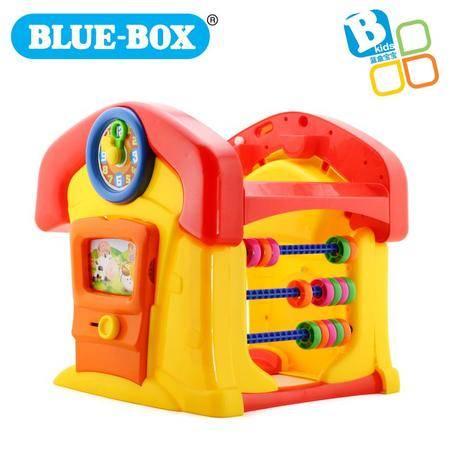蓝盒宝宝儿童玩具婴儿早教益智玩具 学习桌椅套装