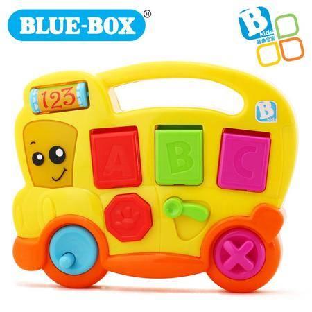 蓝盒宝宝儿童玩具婴儿早教益智玩具 快乐弹跳巴士