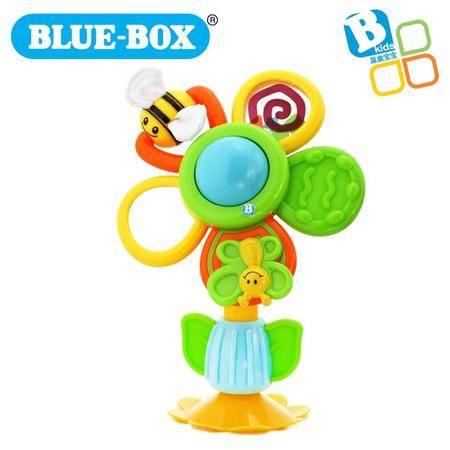 蓝盒宝宝儿童玩具婴儿早教益智玩具 吸盘花