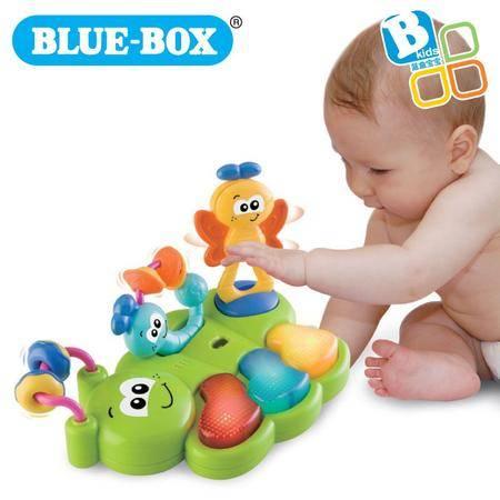 蓝盒宝宝儿童玩具婴儿早教益智玩具 昆虫乐队