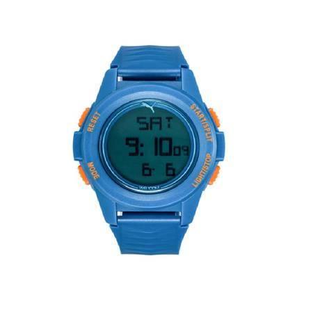 彪马puma手表 时尚多功能液晶显示日历计时运动男表 电子表 跑步达人必备 PU911161003