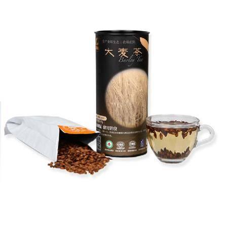 顶能大麦茶 原味餐饮五谷大麦茶出口韩国罐装50g