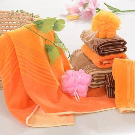 迪士尼米奇毛巾多件套 DSN15-035 橘色 棕色两色可选