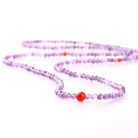 奈唯 水晶手链 紫苏