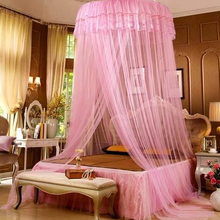 梦巢透气网纱蚊帐 WZ-01 粉色 黄色 紫色三色可选