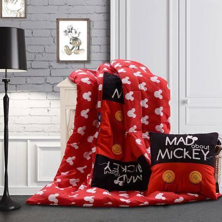 迪士尼功能抱枕被系列休闲米奇抱枕被DSN16-X027