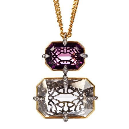 Swarovski施华洛世奇紫色水晶项链5169074