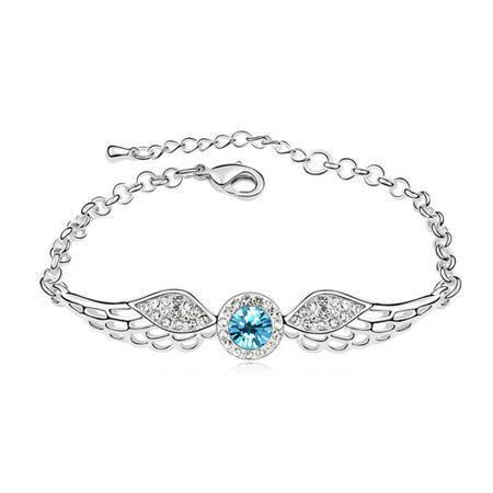 渠玉轩 天使之翼水晶手链 qyx-sl-082901