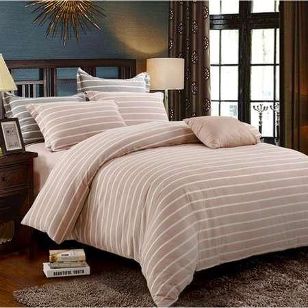 华纳斯水洗棉色织床品四件套 安妮HNS16-X001