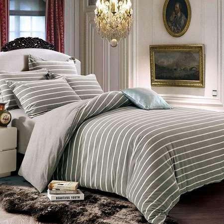 华纳斯水洗棉色织床品四件套 歌瑞HNS16-X002