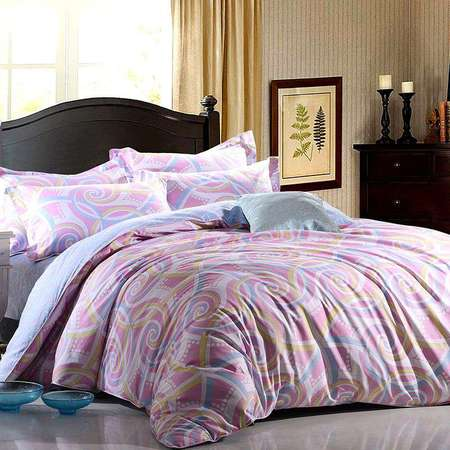 华纳斯高密40s精梳棉床品四件套艾琳HNS16-X011
