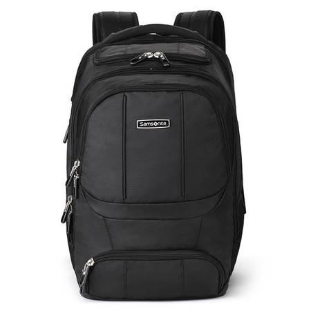 Samsonite新秀丽双肩包WHARTON高端电脑包背包黑色36B*09002黑色