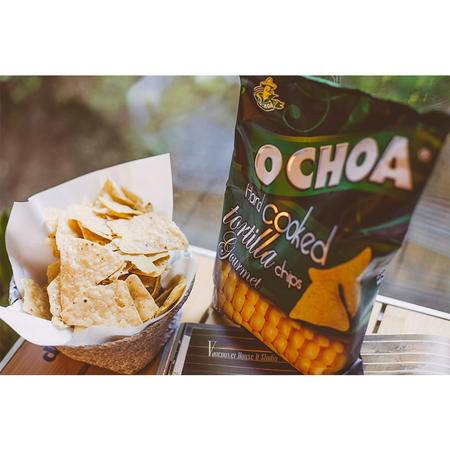奥奇亚 玉米片 墨西哥原装进口 海盐玉米片125g两袋装