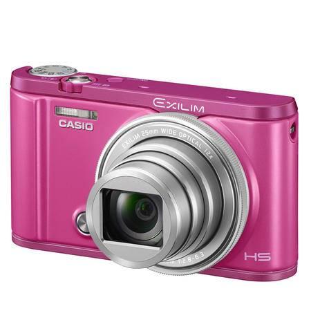 卡西欧EX-ZR3600翻转屏小自拍神器 美颜数码相机含16G卡一个白、红、紫三色可选