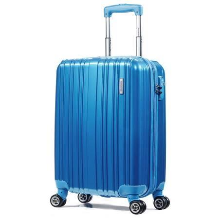 美旅经典条纹万向轮拉杆箱20英寸79B 酒红色、银色、蓝色、紫色、灰色五色任选