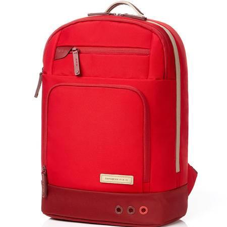 新秀丽双肩包RED系列VOY休闲时尚大容背包小号 33S*00002红色、33S*41002海军蓝