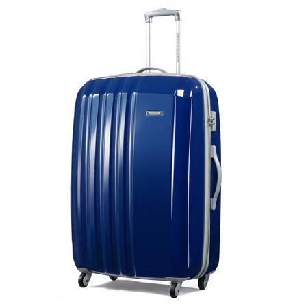 【送箱套】美旅 轻盈PC拉杆箱硬箱29英寸 深蓝、金属灰、紫色三色可选