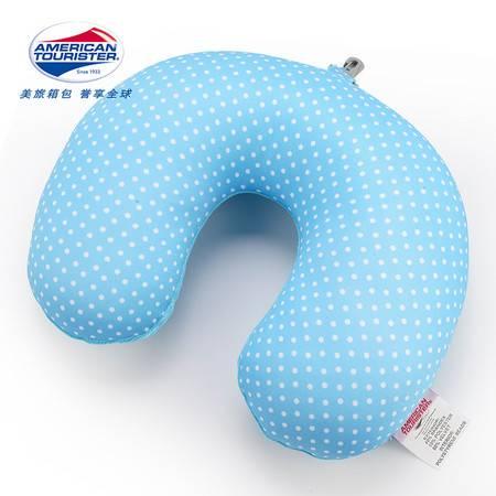 美旅 旅行微粒枕 68Q*38003淡蓝色