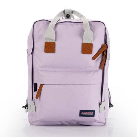美旅 时尚厚实耐磨双肩包50Q*71004淡紫色