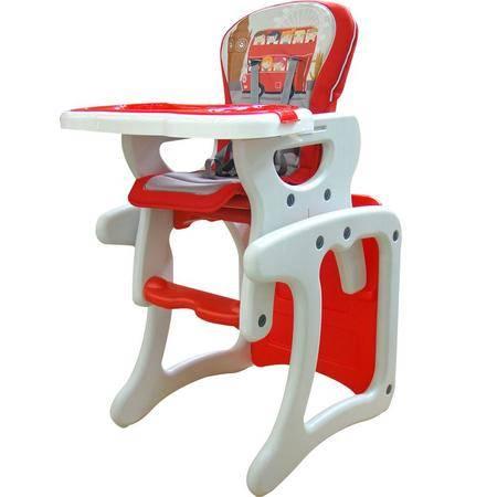 文博仕宝贝星球多功能儿童餐椅bbym-L宁静蓝、绚丽红、深色蓝、活泼绿四色可选