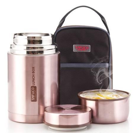 泰福高 1L焖烧壶 304不锈钢焖烧杯保温粥桶焖烧罐 赠保温包 多色可选