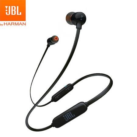 JBL  蓝牙入耳式耳机T110BT 无线运动耳机 颈挂式耳机 带麦可通话 苹果安卓通用