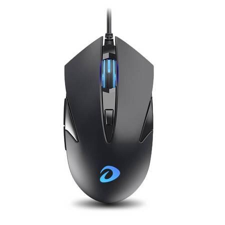 达尔优 电脑笔记本办公有线USB防水 LM113 黑色