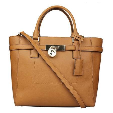 Michael Kors 迈克.科尔斯 女士手提包单肩包 30F4GHMT9T 棕色