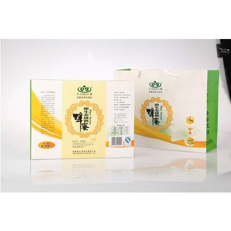 王巢100%零添加零污染无抗生素  原生态成熟蜂蜜4*250g礼盒