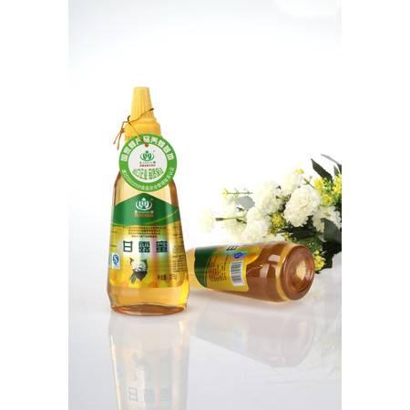 王巢 甘露蜂蜜  出口品质 375克 瓶装