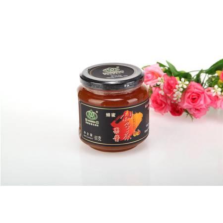 王巢 蜂蜜柚子茶 600克 瓶装