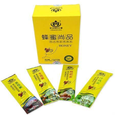 王巢便携混合装 蜂蜜  12克*20条 盒装