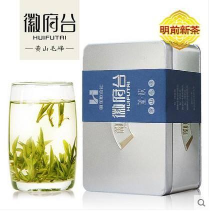 黄山毛峰 2016新茶安徽极品绿茶雀舌 特级 春茶原产地茶叶80g/ 罐
