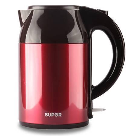 苏泊尔(supor)电热水壶 1.7L双层无缝保温 STRIX温控 SWF17S02A