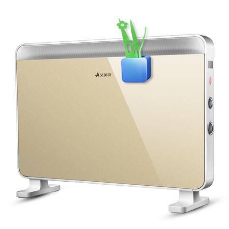 艾美特欧式快热取暖器家用电暖气 电暖器家用浴室暖风机HC22083-W