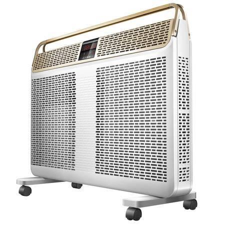 艾美特 取暖器家用电暖器防水暖风机办公室遥控节能浴室HL22087R-W