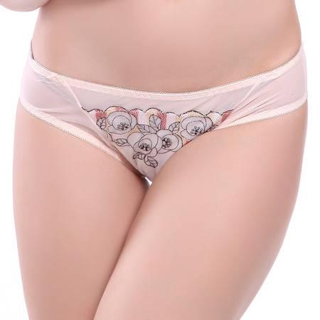 艾莎姬蔓高档女士平角提臀内裤D1586