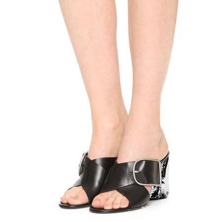 玛丽兰夏季高跟单鞋头层牛皮时尚女鞋