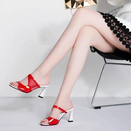 玛丽兰夏季拖鞋浅口百搭休闲一字拖女鞋