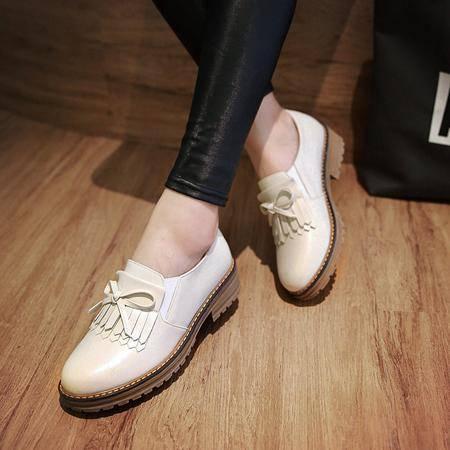玛丽兰夏季单鞋平底时尚休闲纯色百搭女鞋