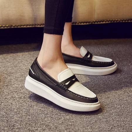 玛丽兰夏季单鞋厚底时尚百搭皮鞋