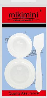 Mikimini   面霜盒+小勺子(2个+1支)  面霜分装瓶  便携盒