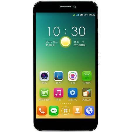 百加 (100+) V6 32G版 瓷白 移动3G手机 双卡双待