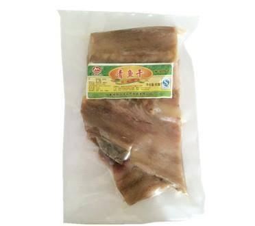 安徽特产巢湖姥山岛纯天然野生新鲜腌制青鱼干500g真空袋装