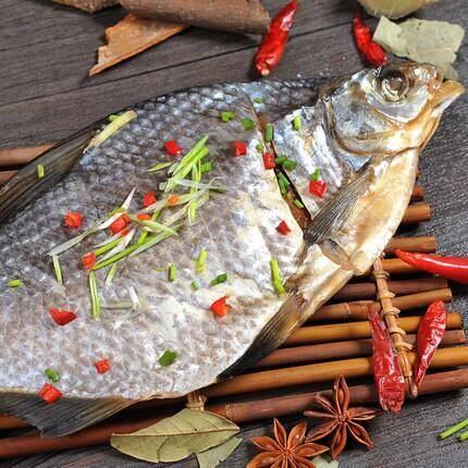 巢湖姥山封鳊鱼350g正宗高钙高蛋白营肚子里塞瘦肉