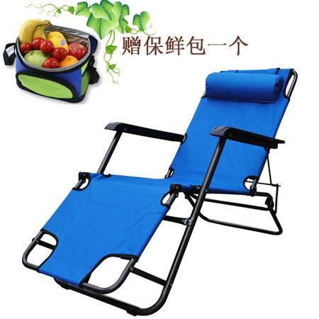 朗琦 两用休闲折叠躺椅 经典便携折叠床椅(赠保鲜包)