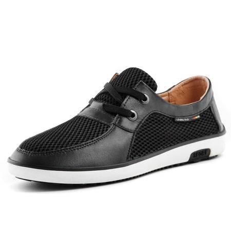 IVG2014 夏季新款 平底透气网布鞋 休闲平底鞋 商务英伦男鞋子