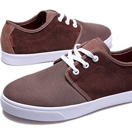 IVG2015春夏新款板鞋真皮牛皮休闲鞋韩版商务潮流鞋