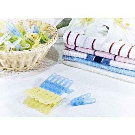 茶花0754 洗衣夹子 裤夹 晒被夹(24只)  塑料制品